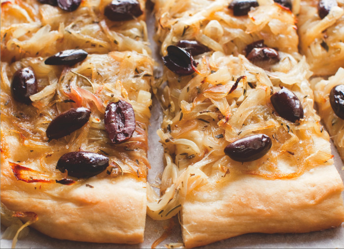 Make this tart as a main dish or appetizer.