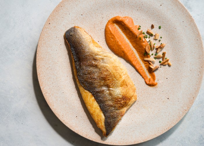 Crispianity: Crispy Fish With Romesco Recipe