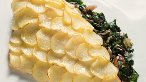 Ben Pollinger's Dorade With Potato Scales Recipe