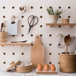 Kitchen Pegboard Contractor Easy Decor Upgrade Get A Better Food Republic