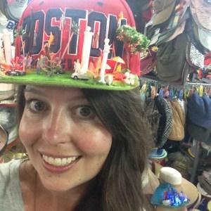 Jenny in kooky hat