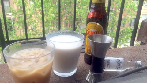 Homemade Almond Milk Dos And Don'ts. Do: Make A White Russian!