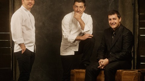 The three brothers behind Spain's El Celler de Can Roca, just named the world's best restaurant.