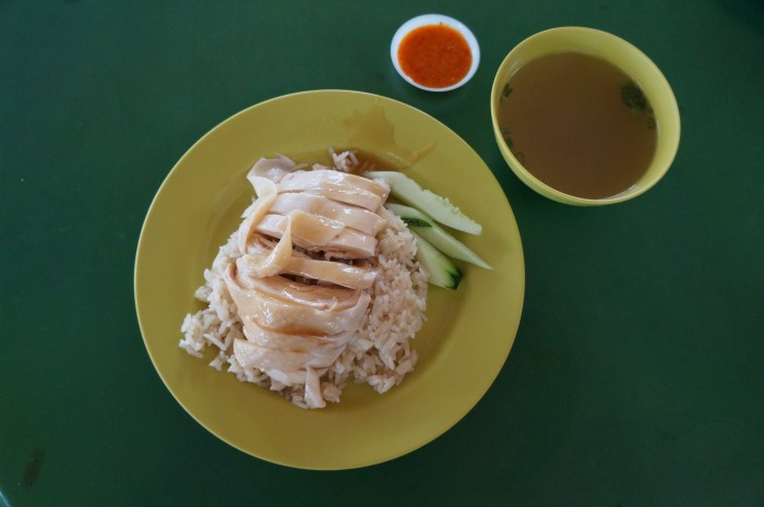 Hainanese chicken rice (Photo: Jenny Miller)
