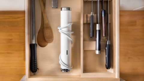 What is that...exactly? It's a sous vide machine that fits in your utensils drawer — one of many ultimate holiday gifts.