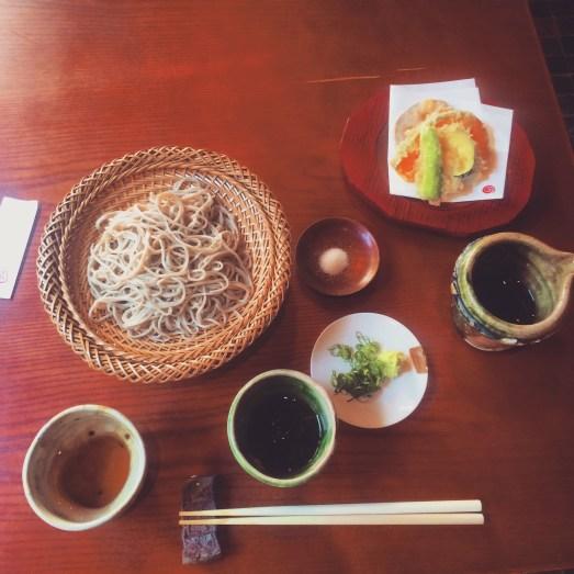 fav soba place in nakameguro