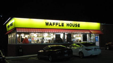 Waffle House: Go for the waffles; stay for the tunes. (Photo: gerrydincher/Flickr.)