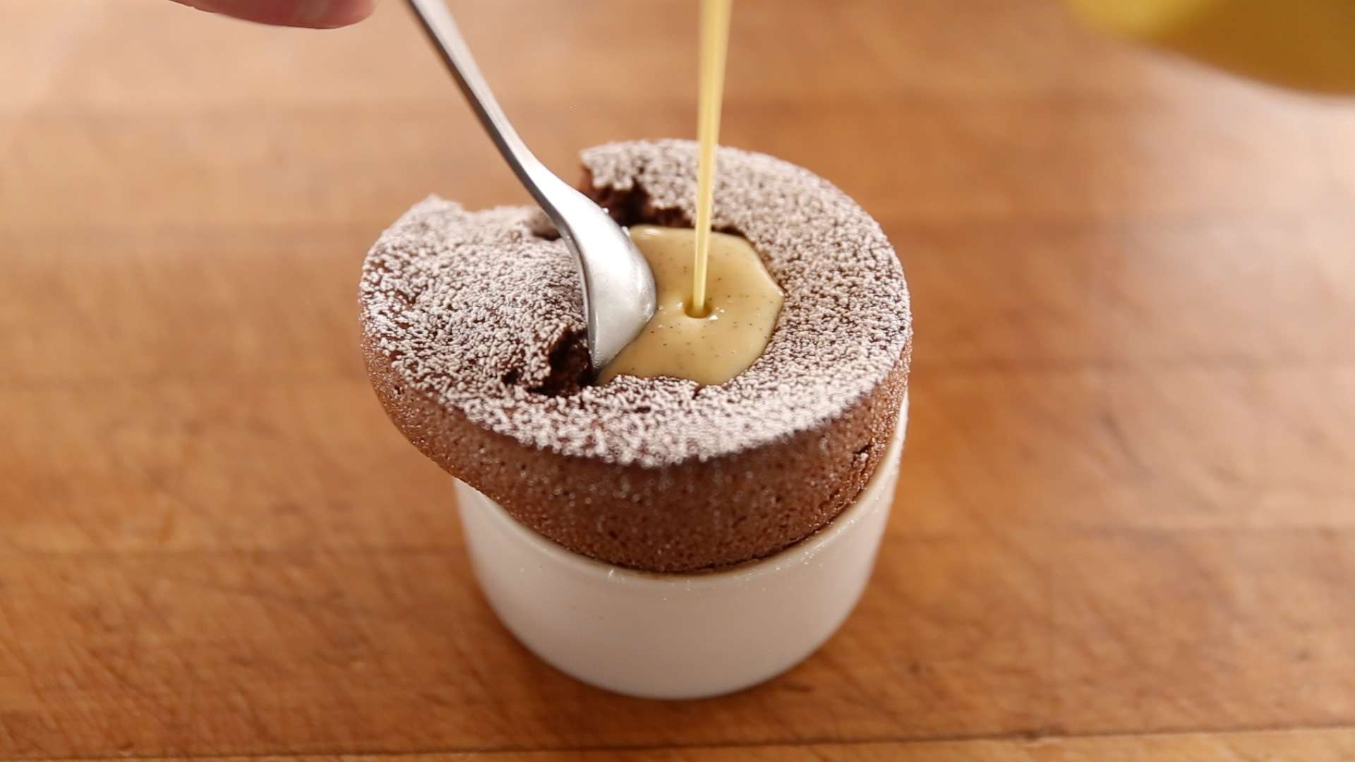 How To Make Molten Chocolate Soufflé - Food Republic