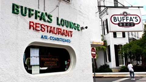 Buffa's Lounge is a classic late-night standby for a delicious burger and a beer.