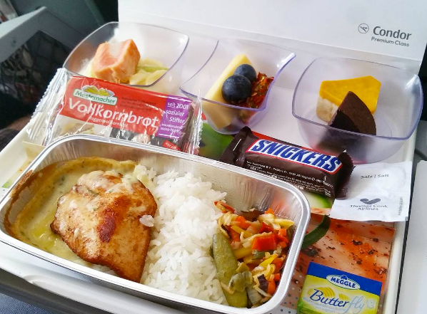 This Instagram Feeds You All The Airline Food You Can Eat