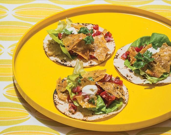 Crunch Into A Recipe For Crispy Chicken Skin Tacos Food Republic