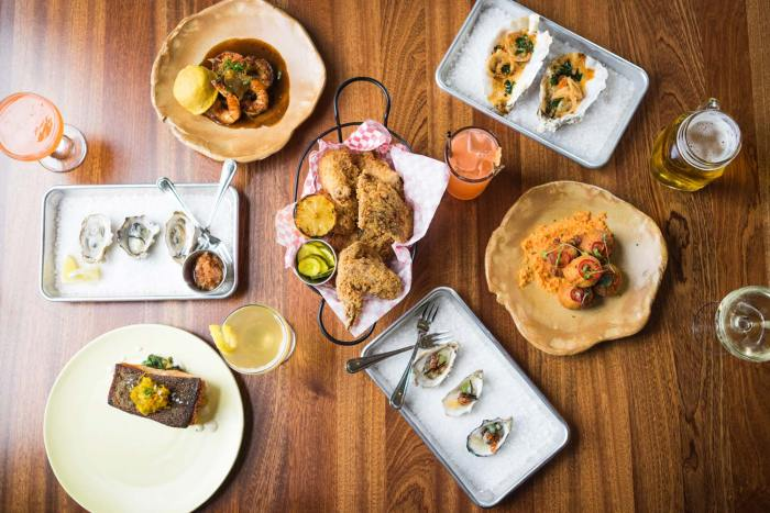 The fried chicken is practically faultless at The Waiting room by Chefs Thomas Dunklin and Kyle Rourke. (Photo credit: The Waiting Room)