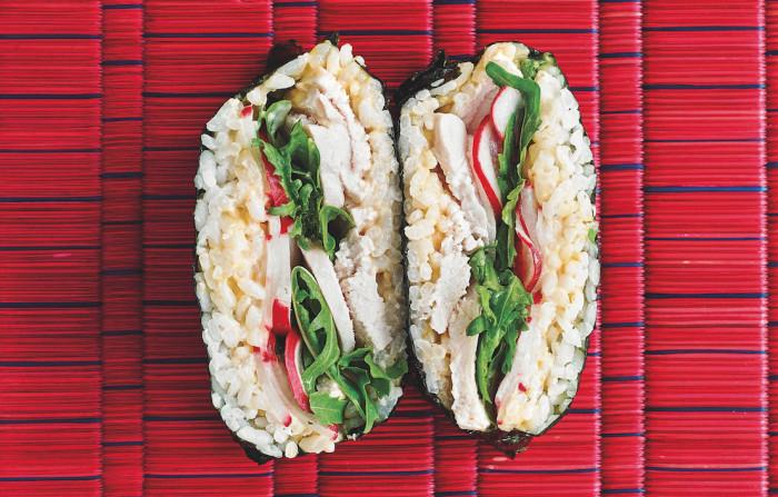 Chicken Onigirazu
