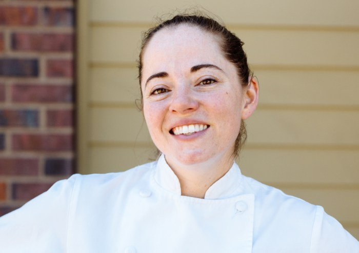 Katy Millard is the chef/owner of Portland's Coquine in Mt. Tabor. (Photo credit: Joshua Chang)