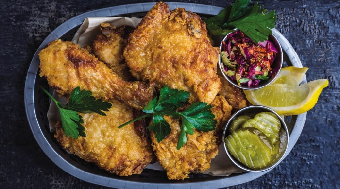 maple buttermilk fried chicken