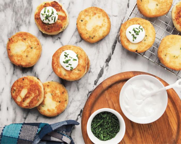 mashed potato scones