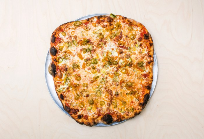 arrabbiata pizza