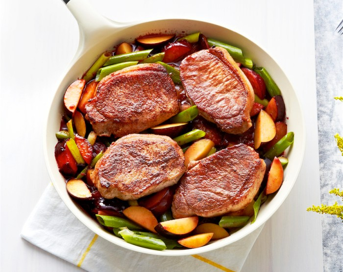 Pork With Plums