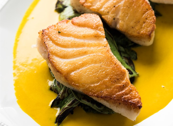 Sea Bass With Ginger