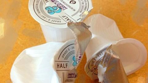 Dissolvable Milk And Sugar Pods