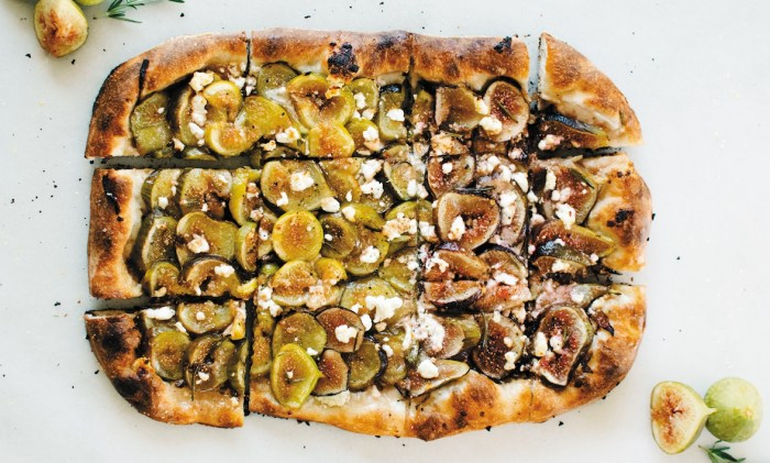 Fig Pizza With Chèvre