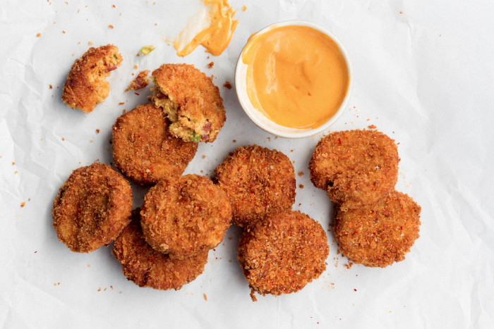 Chinese sausage fritters