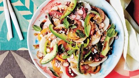 Jicama And Pomegranate Salad