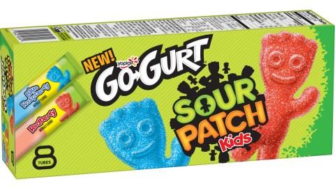 Sour Patch Kids-Flavored Yogurt