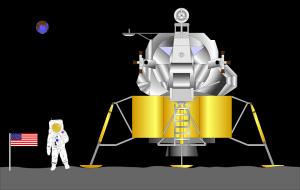 astronaut on moon 2