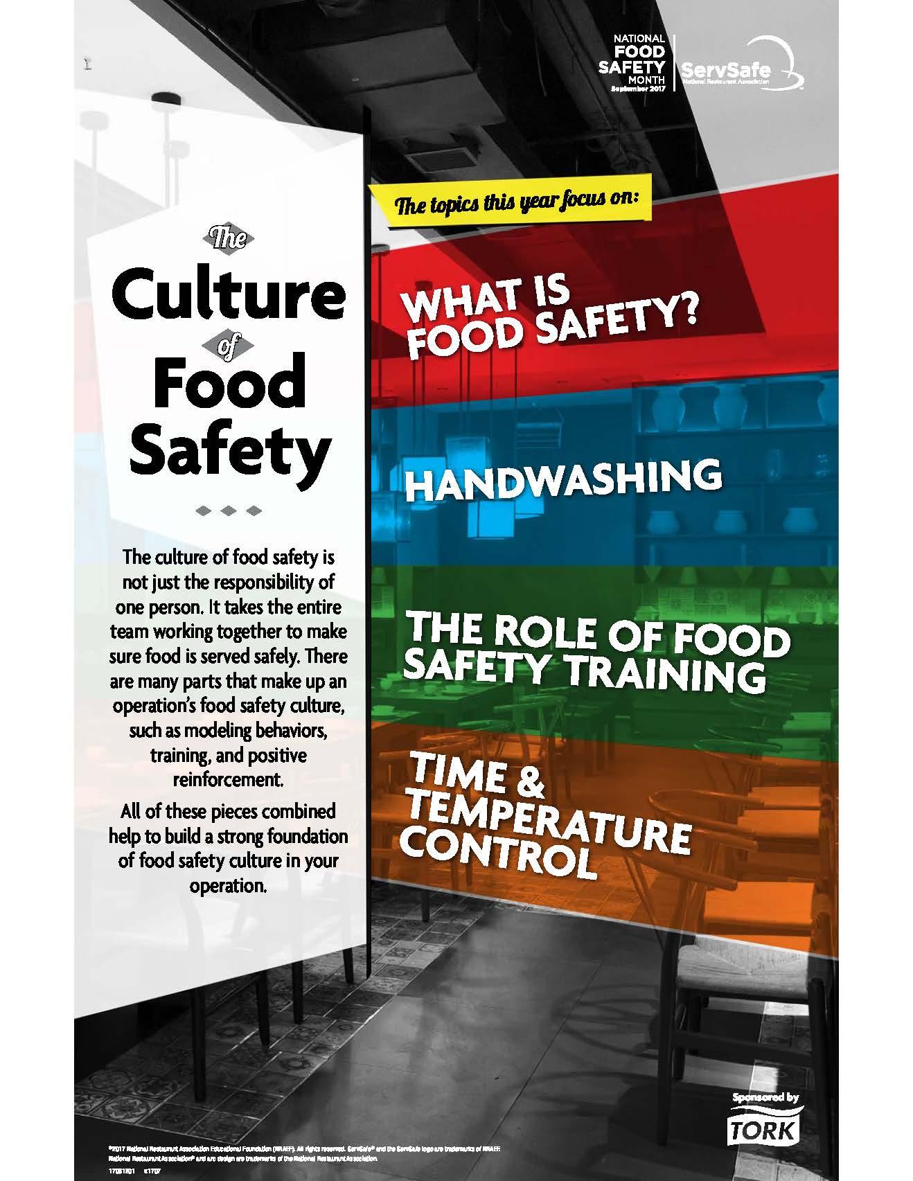 Training Tips For September S Nat L Food Safety Month