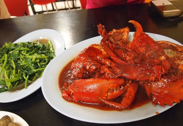 Kepiting Super Lezat via Google Maps