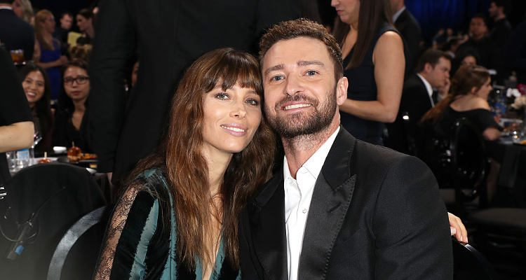 chair exercise justin timberlake standing workstation jessica biel hottest couple at critics choice awards so what do they eat to stay in shape