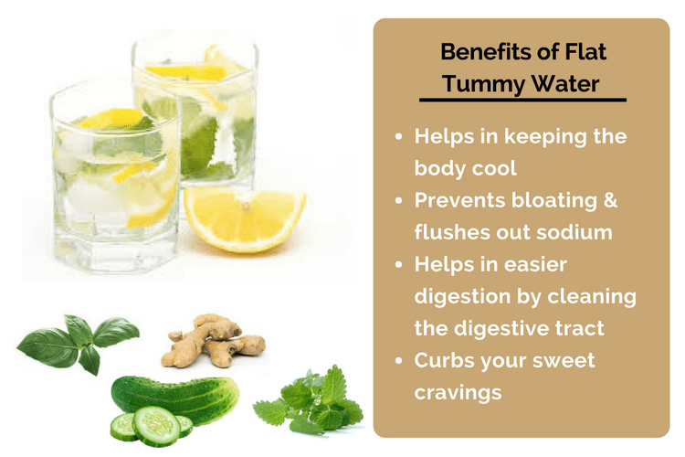 Flat Tummy Water Benefits