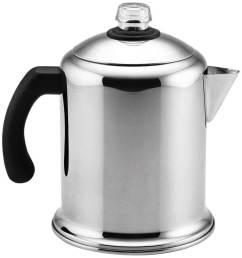 farberware classic stainless steel yosemite coffee percolator [ 940 x 1000 Pixel ]