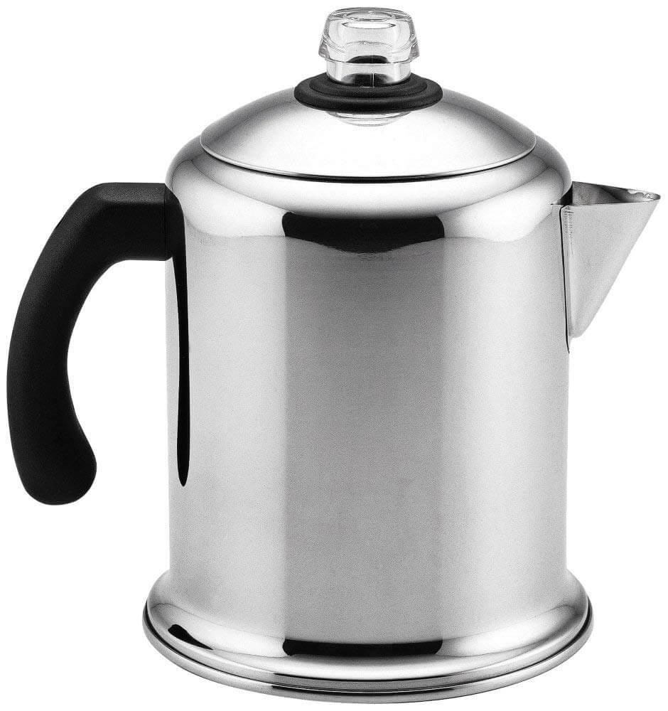 medium resolution of farberware classic stainless steel yosemite coffee percolator