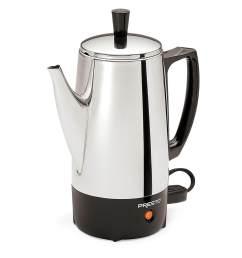 presto 02822 stainless steel coffee percolator [ 1500 x 1500 Pixel ]