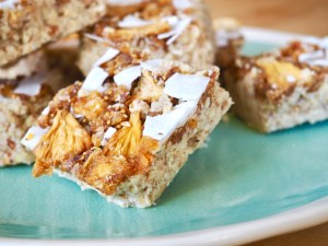 quick and healthy breakfast recipes no-bake pineapple upside-down bars