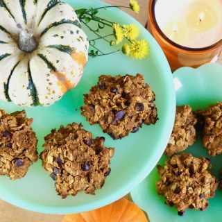 Vegan Gluten-Free Pumpkin Chocolate Chip Cookies