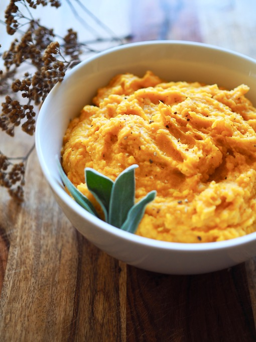 3-Ingredient Creamy Butternut Squash | Paleo | Vegan | Whole30