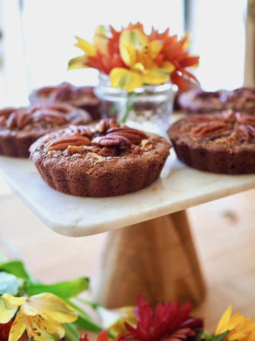 Paleo Chocolate Maple Pecan Tarts