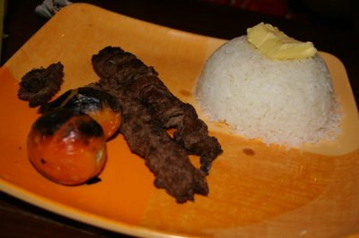Special Chelo Kabab