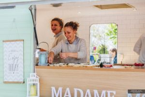 foodtruck met croques duo