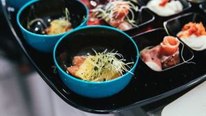 foodtruck met burgers bowl