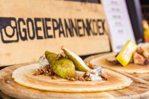 foodtruck met pannenkoeken peer