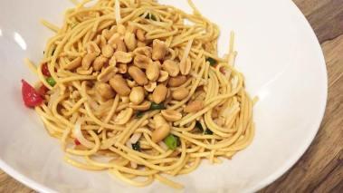 foodtruck met wraps pasta