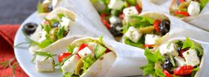 foodtruck met wrap Grieks