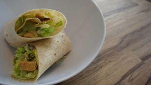 foodtruck met wraps ceasar salad