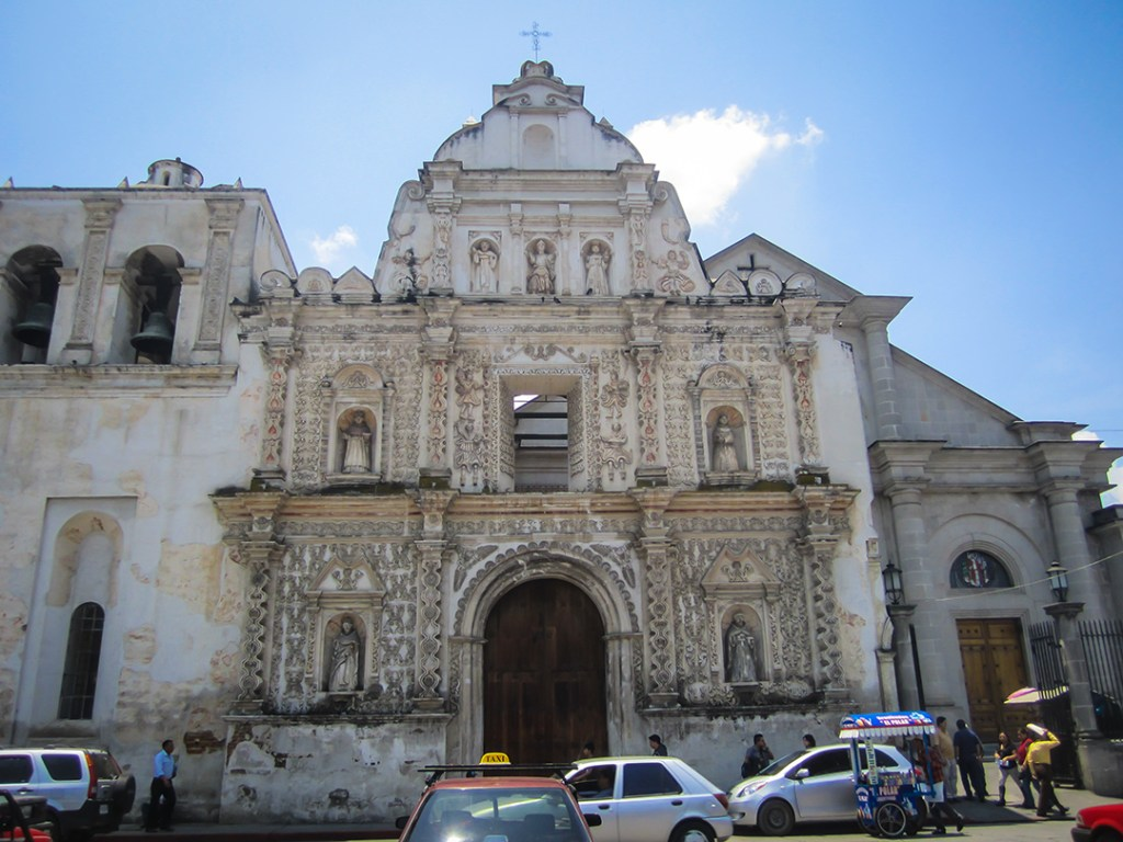Eglise de Xela, Parque Central
