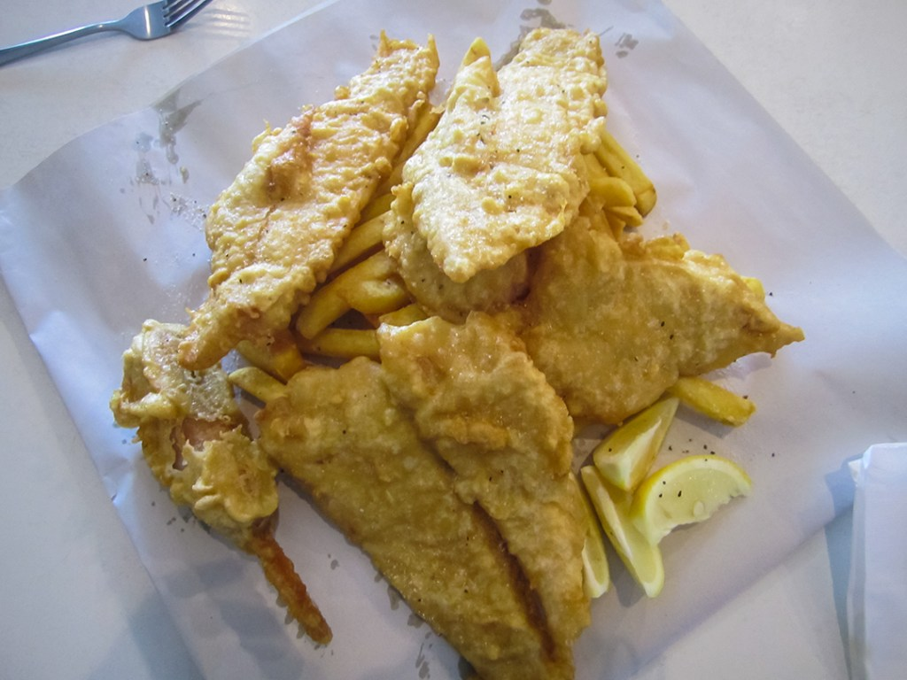 Premier Fish n Chips à Devonport