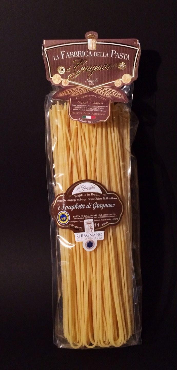 Die besten Nudeln, die beste Pasta kommt aus Gragnano